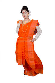 dhakai jamdani mummystop orange dhakai jamdani saree new arrival