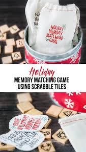 holiday memory matching game for kids live laugh rowe