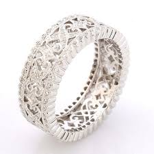 designer rings images 18ct white gold lattice design diamond ring rings diamond