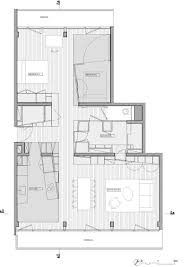 Apartment Design Plan by Parisian Apartment Design With Interior Wooden Volumes