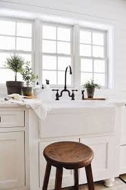 does kitchen sink need to be window our new farmhouse sink setup liz