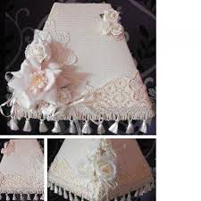look what ive made projects home crafts shabby chic lampshade