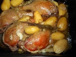 comment cuisiner des cuisses de canard recette de cuisses de canard pommes fondantes