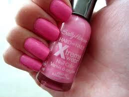eating lipstick nail of the week pink bubblegum