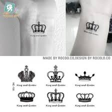 men crown tattoos online men crown tattoos for sale
