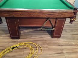 Antique Brunswick Pool Tables by Barga Ca 1917 Brunswick Pool Table