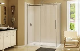 rectangular shower base acrylic olympia square 60 maax bathroom