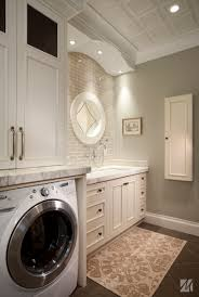 small laundry room sink laundry room sinks cabinet is completed with round mirror and brown