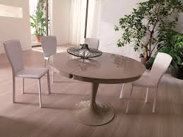 Contemporary Glass Dining Table Awesome Modern Glass Round Dining Table Free Reference For Home