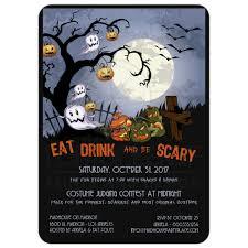 halloween birthday supplies halloween party invitation template virtren com