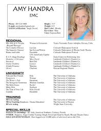 Resume Examples Marketing by Best 25 Acting Resume Template Ideas On Pinterest Resume