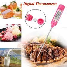 thermometre cuisine sonde tempsa thermomètre cuisine numérique alimentaire sonde bbq viande