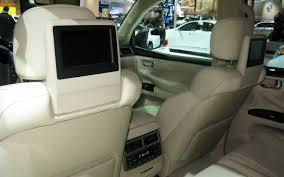 lexus lx 570 interior photos 2013 lexus lx570 2012 detroit auto show motor trend