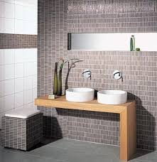 Curved Bathroom Sink In Mosaic Tile Skin By Lago - Bathroom designs with mosaic tiles