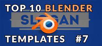 2d intro templates for blender top 10 best blender 2d intro templates 7 free downloads