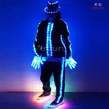 Tron Halloween Costume Light Up by Led Light Clothing Led Dancer Mj Tron Dance Led Clothes Buy Led