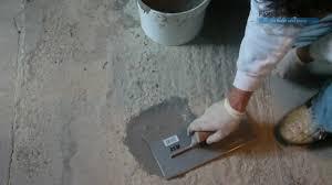 Concrete Floor Repair Patch It Rapid Floor Repair Youtube