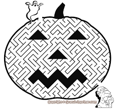 jeu pour enfant halloween gratuit a imprimer jeu labyrinthe