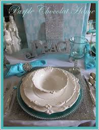 Blue Christmas Decorations Table by Blue Christmas Tablescaping Blue Christmas Tablescape Holiday