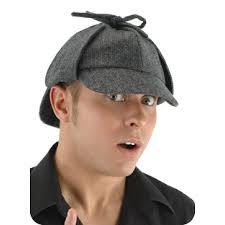 Sherlock Halloween Costumes Sherlock Holmes Deer Stalker Style Hat Gray Detective