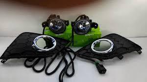 nissan sentra sylphy oem fog lamp light kit my 16 youtube
