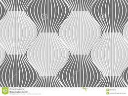 3d shades of gray vertical striped waves stock vector image