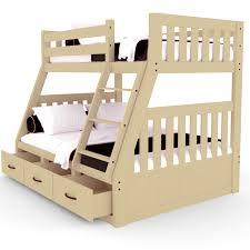 Bunk Beds Australia Buy Cornelia Solid Pine Bunk Bed With Storage