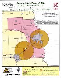 Nebraska Time Zone Map by Nebraska Department Of Agriculture