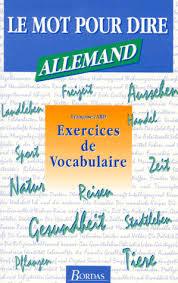 vocabulaire cuisine allemand allemand exercices de vocabulaire françoise tard payot