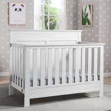 White 4 In 1 Convertible Crib Serta Fall River 4 In 1 Convertible Crib Free Shipping Today