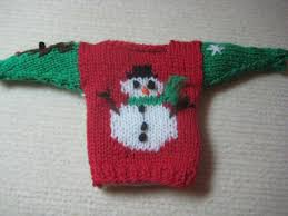 ugly christmas sweater u2013 a xmas ornament knitting tutorial for