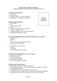 One Page Resume Template Word Free Resume Templates Simple One Page Template Cv Resumes