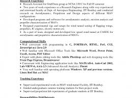 Resume No Experience Template How To Write Project Report Acknowledgement Example Of A