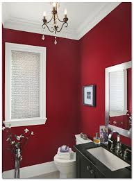 bathroom renovation best bathroom colors red wall painted