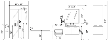 standard mirror sizes for bathrooms bathroom renovation size requirements planning guides rona rona