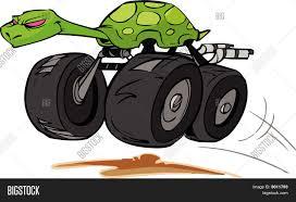 monster trucks clipart monster truck turtle vector u0026 photo bigstock
