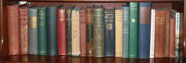 bookshelves pining for the west