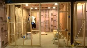 basement workspace finishing timelapse youtube