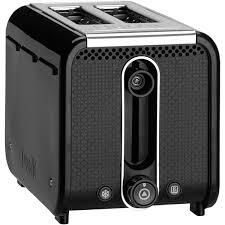 Dualit Stainless Steel Toaster Dualit 26410 Studio 2 Slice Toaster Black Homeware Thehut Com