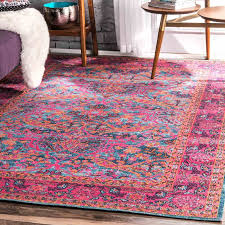 Pink Area Rug Bungalow Pink Area Rug Reviews Wayfair