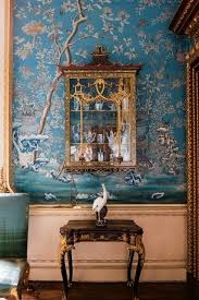 Chinese Home Decor Chinese Wallpaper In A Bedroom At Houghton Hall Norfolk Chinese