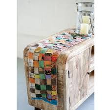 recycled kantha table runner kantha stitching table runner