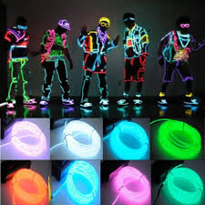 neon party supplies 2017 new 3m el wire neon light for party car decor