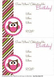 free printable birthday invitations with photo insert gallery