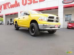 Dodge Ram Yellow - 2009 detonator yellow dodge ram 1500 trx4 crew cab 4x4 71914560