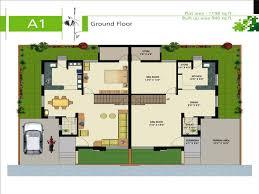 Luxury Duplex House Plans Gfa1 Jpg
