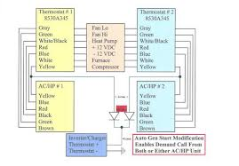 air conditioner thermostat wiring schematic wiring diagram and