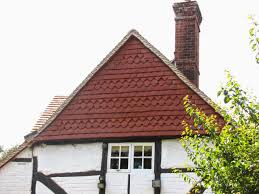 tudor roof tiles being creative with plain clay roof tiles