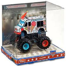 disney cars 1 43 monster trucks screamer diecast car walmart