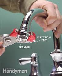 clogged kitchen faucet how to clean and repair a clogged faucet family handyman
